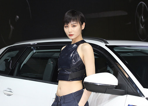 第十五届广州车展上有你最熟悉的那个她