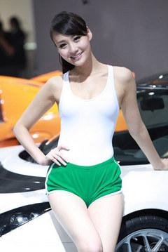回忆车模--王琳娜