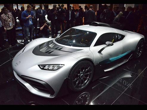 法兰克福车展 AMG Project ONE实拍