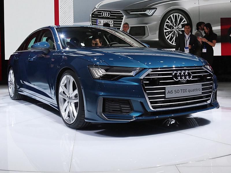 2018日内瓦车展实拍 奥迪新一代A6解析